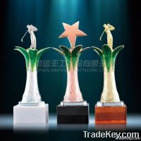 Factory Directly selling Enamel golf Trophy