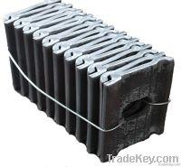 High quality gauge apron/gage apron/rail parts