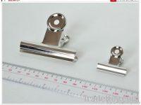 Nickel metal Spring clip, double clip