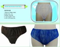 disposable non woven pp underwear