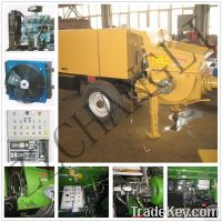 Electric or Diesel Motor Concrete Pump