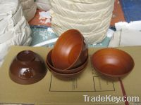 Bamboo bowl for home or restaurant use