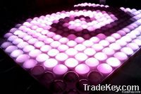 LED disco bubble panel