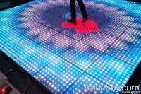 LED interactive dance floor