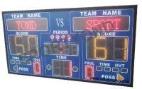 Multi-sport led electronic digital scoreboard with wireless score boards