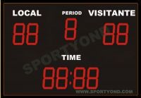 Gymnasium electronic led digital water polo scoreboard by wireless control scoring board