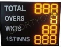 UK cricket led digital electronics scoreboard