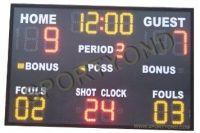 Indoor outdoor LED electronic digital basketball scoreboard on stadium score device