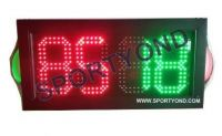 Soccer electronic led digital player substitute board with red and green display