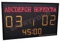 Football LED electronic digital scoreboard