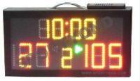 Electronic digital portable scoreboard with led mini score board