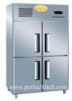 4-Door Commercial Chiller Freezer
