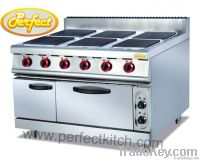 Electric Ranges with 6 Hot Plates and Oven