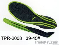 TPR outsoles