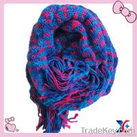 2013 beautiful fashion tassel scarf wholesale