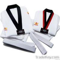 WTF, white taekwondo uniforms, dobok taekwondo