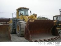 used Komatsu loader