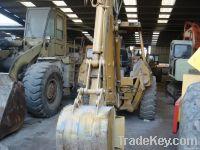 used CAT-436B backhoe, wheel backhoe