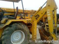 used JCB-3D backhoe, wheel backhoe