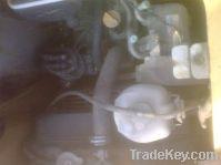 used Komatsu-D20P bulldozer, crawler bulldozer