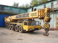 used crane, LTM1125