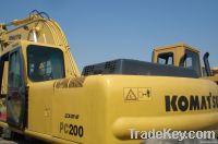 KOMATSU Used Excavator(PC200)
