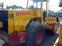 Used road roller with nail CA25D.