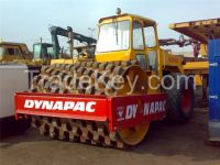 Used road roller with nail CA25.
