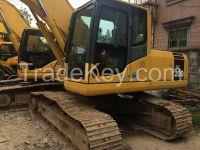 used Komatsu PC200-7 excavator