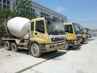 used concrete mixer ISUZU 8 m3.