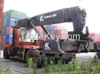 used container stacker Kalmar 42 ton.