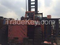 used container stacker Kalmar 45 ton.