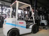 used forklift ,TCM 2 ton ,2015 ,Like new machine .
