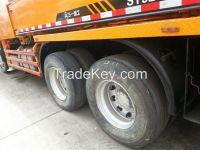 used SANY 37 m concrete pump,ISUZU truck.