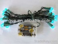 UL led G12 string light with battery-battery led light