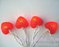 10L Red decorative light, heart light for  wedding decoration