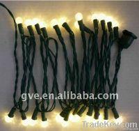 UL warm white led G12 christmas decoration string light