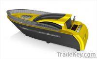 Cool Design Mini Yacht Speaker with TF/USB/FM Radio