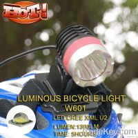 1300lm 5200mah T6 LED bike light+LED Camping Lights