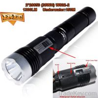 10000MAH dving depth 150M 10000MAH 26650 LED flashlight