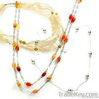 925 sterling silver handmade beaded necklaces