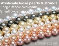fresh water pearl necklace loose pearl beads