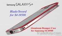 Aluminum Blade Case Sword Case Ultra Thin Aluminum Bumper for S4 i9500