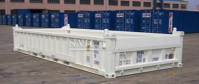 20 Foot Half Height Open Container