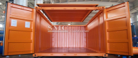 20 Foot Hard Open Top Container