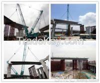 Interflow Multi-dimensional Crossing Steel Box Girder Bridge