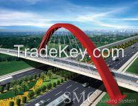 Diagonal Span Arch Bridge