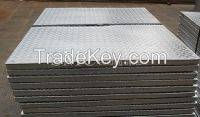 Compound Steel Grating- Checkered Plate Covered on Steel Grating