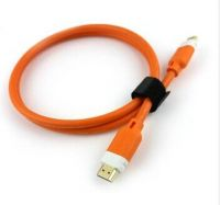 Linoya Ultra-thin HDMI cable with ethernet 1.4v for HDTV 19pin ,1080P, 3D