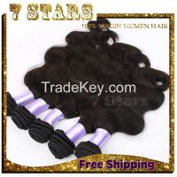 Brazilian Virgin Hair Weft 3pcs Hair Bundles Human Hair Weave Brazilian Body Wave Unprocessed Human Hair Extension Natural Color